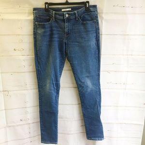 Levi's 711 Jeans Women's Skinny Medium Wash 33